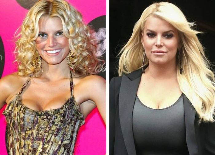 Celebrities Then And Now (25 pics)