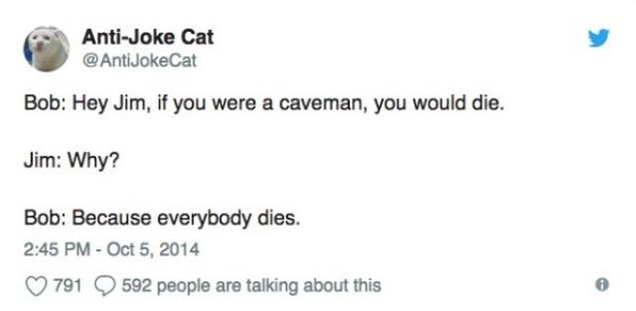 Dark Jokes By Anti-joke Cat (34 pics)