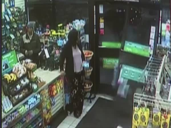 Shocking Moment Drunk Driver Crashes Through 7-Eleven Window