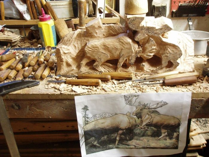 Great Wood Carving (6 pics)