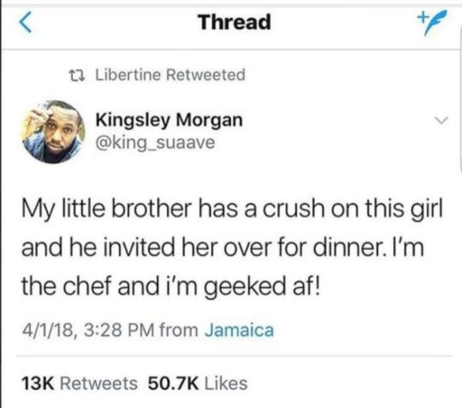 How To Make Little Brother's Date Perfect (9 pics)