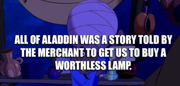 Shower Thoughts About Disney Movies (10 pics)