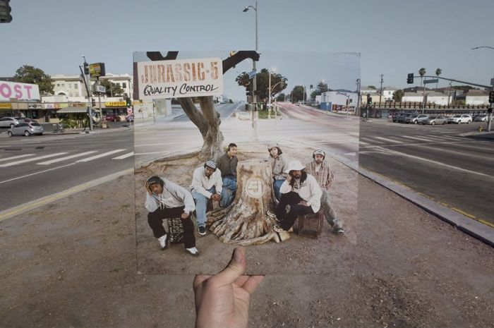 Photographer Spends Years Tracking Down The Locations Of Reggae Vinyl Covers (30 pics)