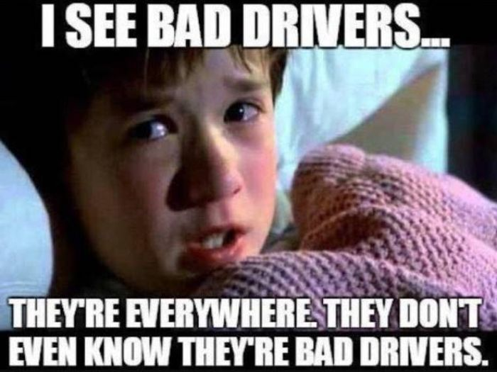 Funny Memes About Driving (58 pics)