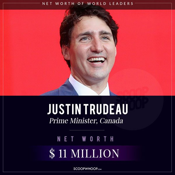 The Net Worth Of The World Leaders. Not Very Official (14 pics)