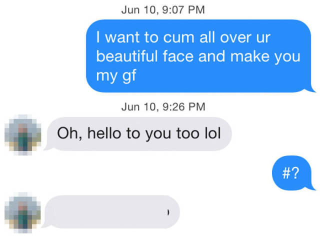 How Girls React To Sleazy Pick-Up Lines (29 pics)