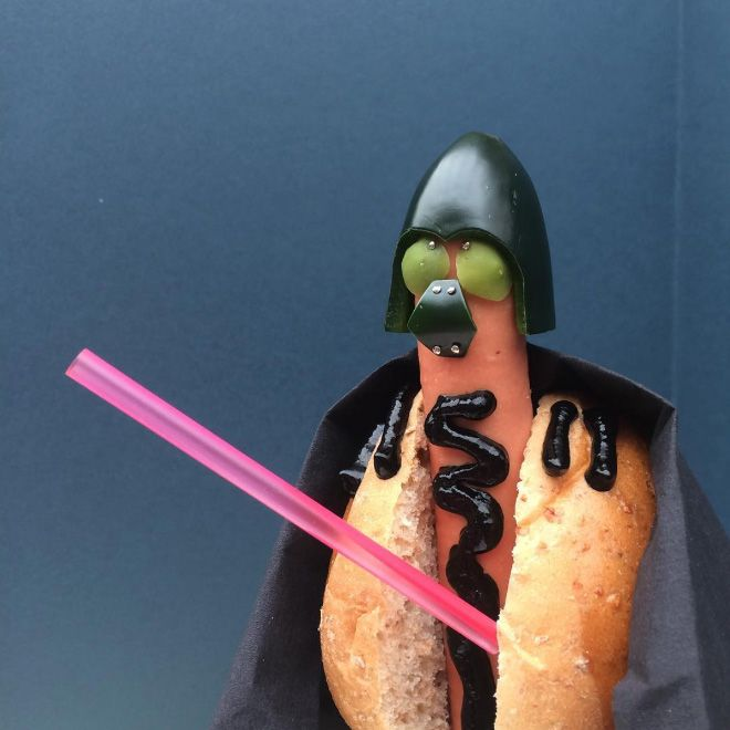 Pop Culture Icons Replaced With Wieners (19 pics)