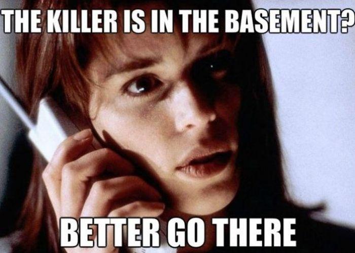 Scary Movie Memes (25 pics)