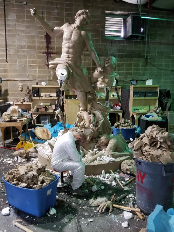 Tragic. This Guy Was Working On This Sculpture For 5 Years (6 pics)