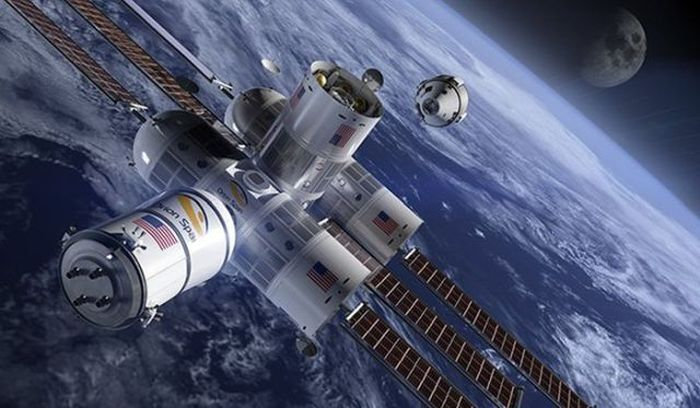 Space Hotel Will Be Cool But Very Expensive (5 pics)