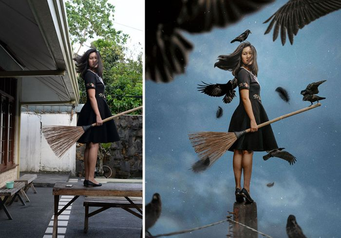 Photos Before And After Effects (18 pics)
