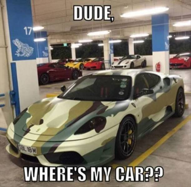 Car Memes (26 pics)