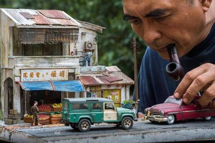 This Guys Makes Dioramas With The Greatest Attention To Details (24 pics)