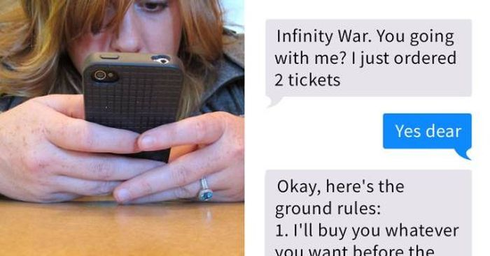 One Guy's Movies Date Ground Rules And Reactions (5 pics)