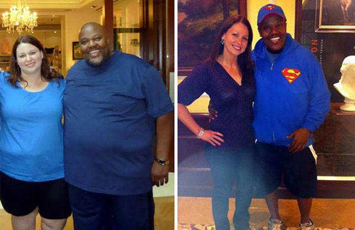 The Couples Who Lost Weight Together (20 pics)
