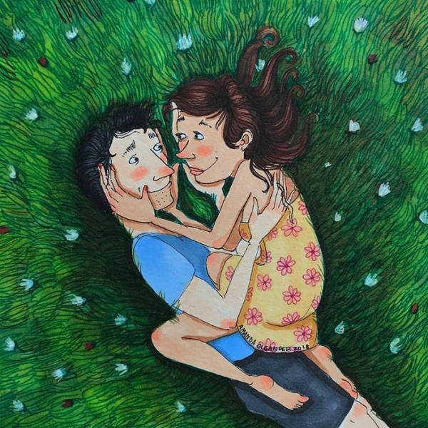 Drawings About Relationship (39 pics)