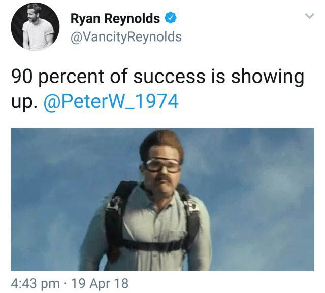 Ryan Reynolds Finally Meets His Match On Twitter (2 pics)