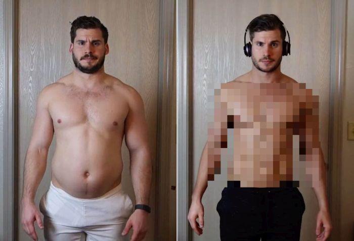 Unbelievable 12-Week Body Transformation (19 pics)