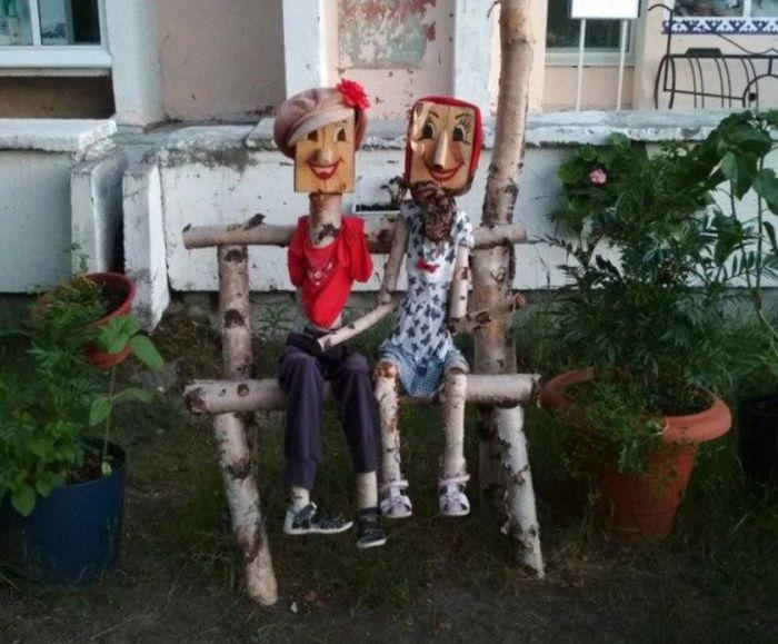 Children's Playgrounds In Russia (35 pics)