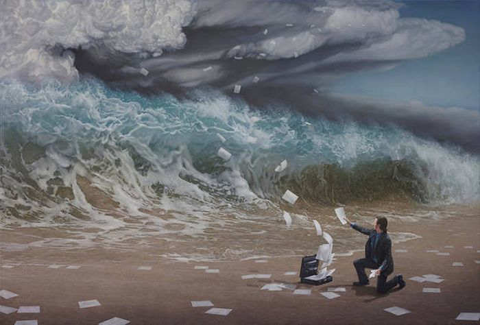 Awesome Paintings. Yes, Those Are Not Photos (19 pics)