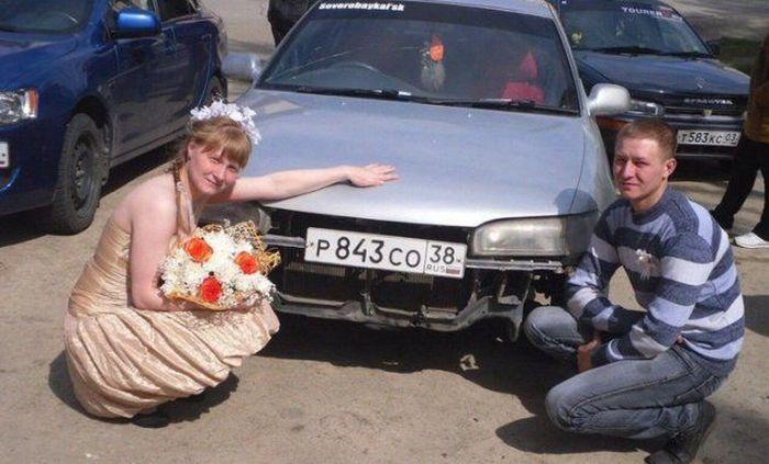 Сватбени снимки от Русия 12