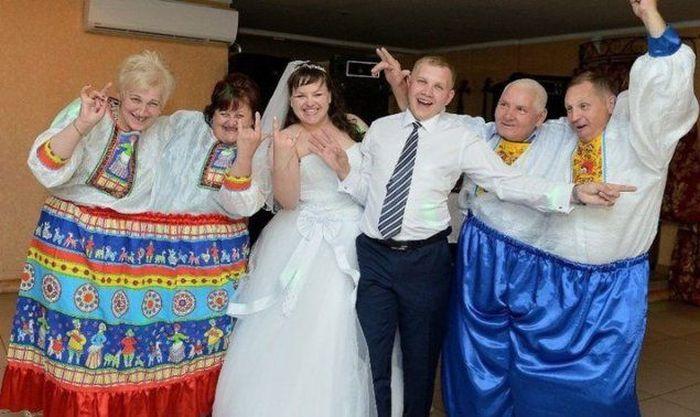Сватбени снимки от Русия 9