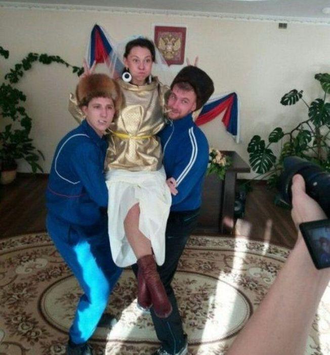 Сватбени снимки от Русия 8
