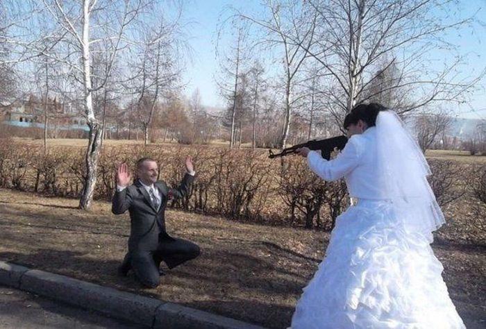 Сватбени снимки от Русия