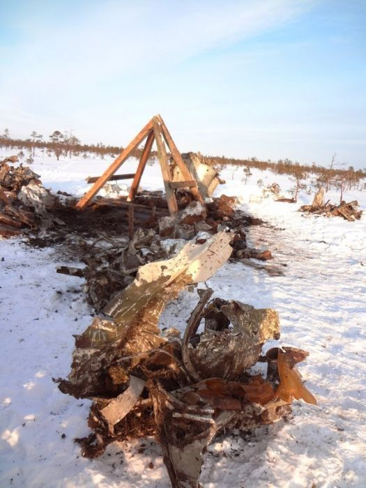 This World War II Plane Spent 76 Years in Swamps (49 pics)