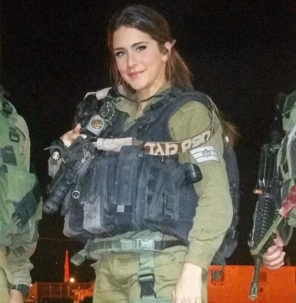 Hot Girl Orin Julie From Israel Defence Forces (14 pics)