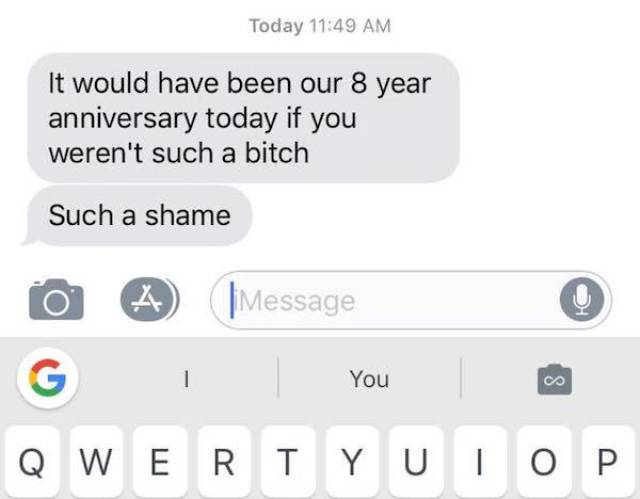 Texting With Your Ex Is A Bad Idea (25 pics)