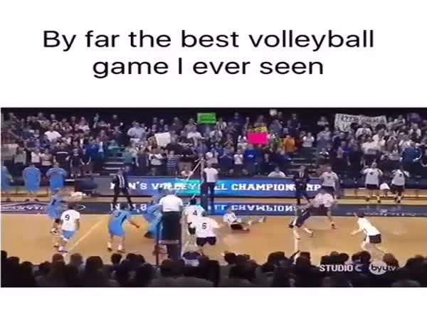 The Best Volleyball Game I Ever Seen