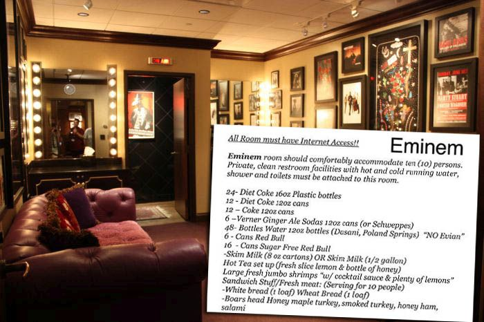Here Is What Musicians Want To Be In Their Dressing Rooms (21 pics)