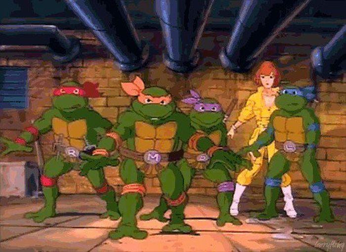 Cartoon Nostalgia (18 gifs)