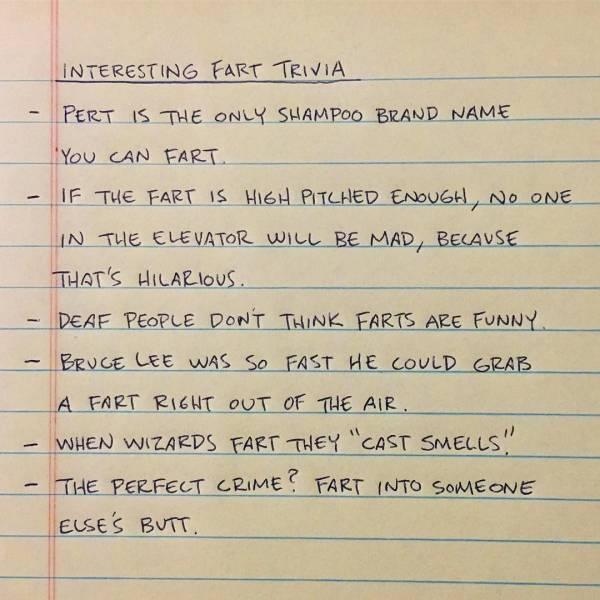 Funny Lists (45 pics)