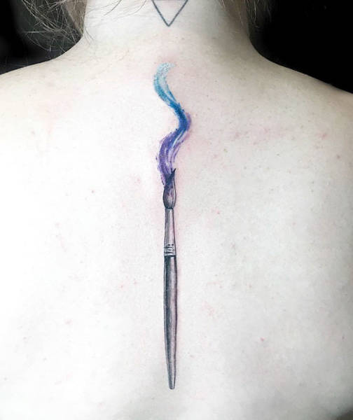 Awesome Spine Tattoos (39 pics)
