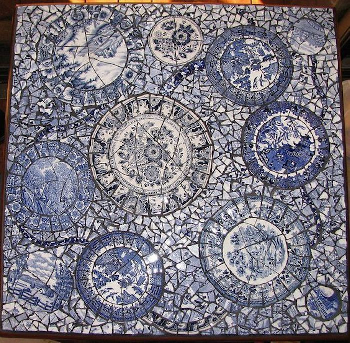 Broken Plates Art (16 pics)