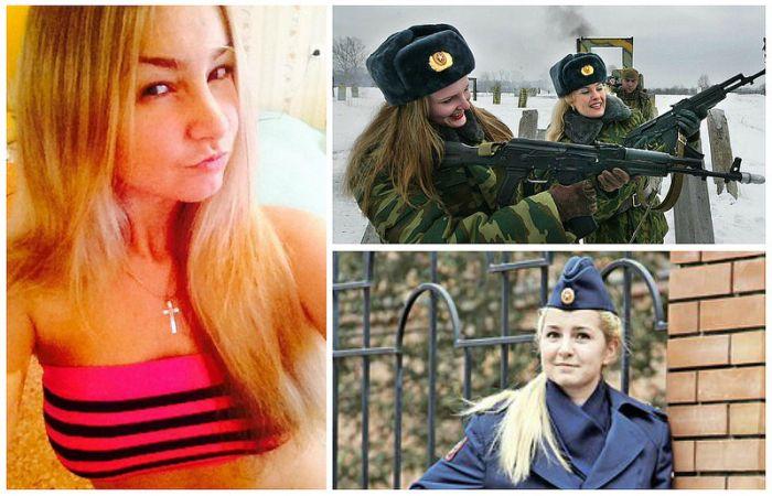 Russian Military Girls (38 pics)