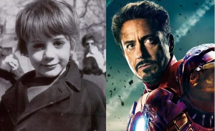 Avengers Stars When They Were Kids (16 pics)
