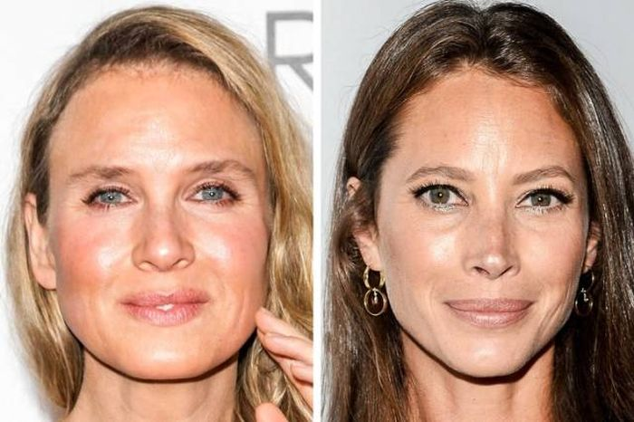 How Plastic Surgery Affect Celebs Who Were Actually Born In The Same Year (19 pics)