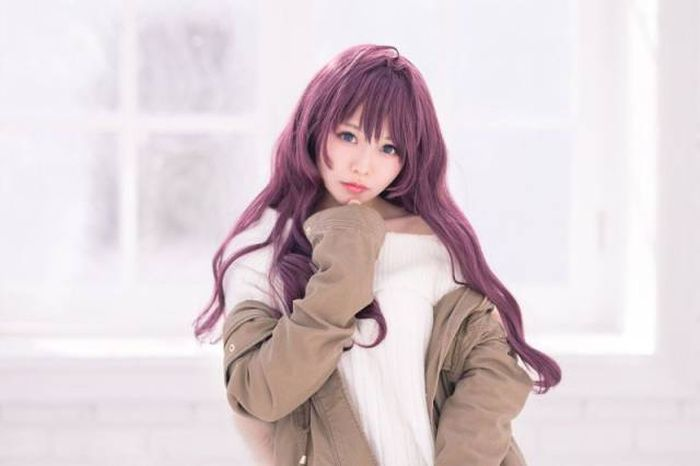 Japanese Cosplayer Turned Herself Into An Anime Character Via Plastic Surgery (7 pics)
