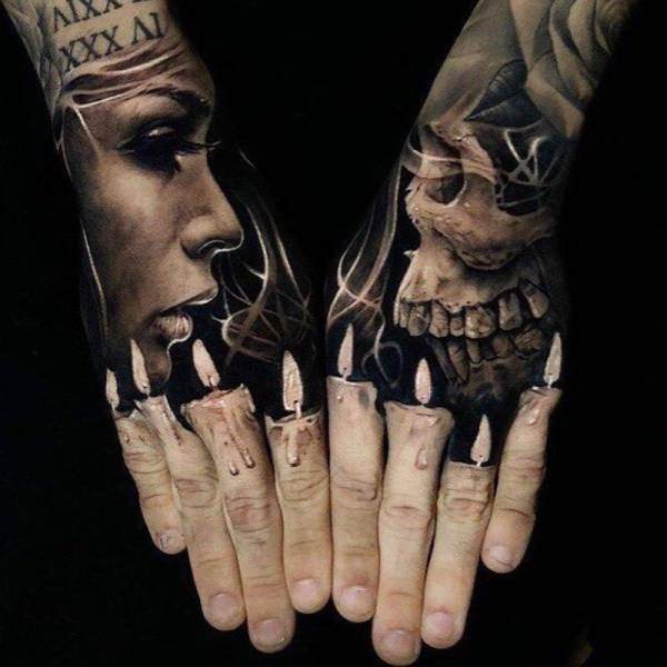 Hyperrealistic Tattoos (35 pics)
