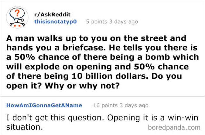 Funny Answers On Reddit (40 pics)