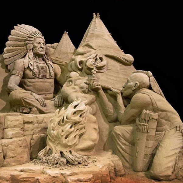 Beautiful Sand Sculptures (24 pics)