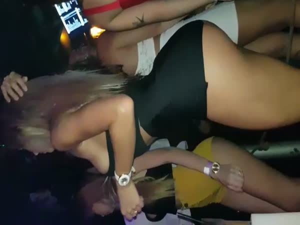 Girls Dancing in The Club