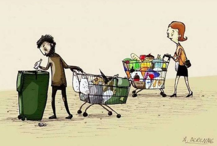Caricatures About Modern Problems (28 pics)