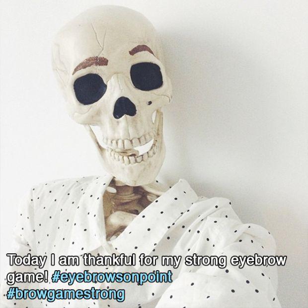 Meet Skellie: The Skeleton Who Imitates Every Girl On Instagram Ever (18 pics)