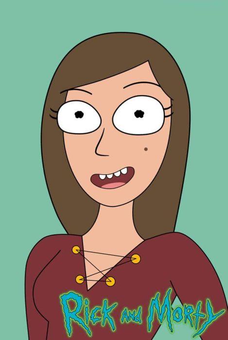 Girl Draws A Self-Portrait In 50 Cartoon Styles (51 pics)