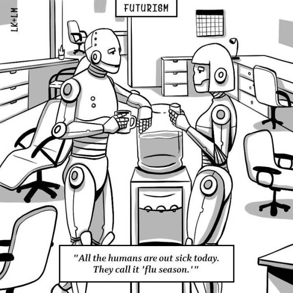Sad And Scary Futuristic Cartoons (40 pics)