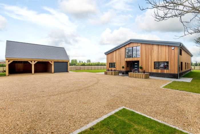Man Turns Old Farm Shed Into $1.3 Million Luxury Home (20 pics)